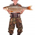 pêcheur Senior — Photo