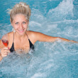 Woman in jacuzzi — Stock Photo #7515983