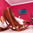 Relaxing room — Stock Photo