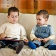 Stock Photo: Children reading book
