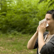 Stock Photo: Allergy
