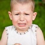 Crying boy — Stock Photo