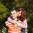 Stockfoto: Love couple
