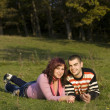 Foto Stock: Love couple