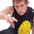 Young athletic man — Stock Photo