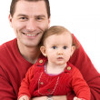 Little girl with father — Stock Photo #7516735