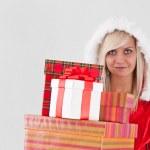 Christmas woman — Stock Photo #7516909