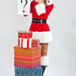 Christmas woman — Stock Photo #7517006