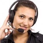 Operator woman — Stock Photo #7517385