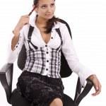 Business woman — Stock Photo #7517509