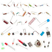 Electronic components — Stockfoto
