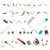 Elektronik bileşenler — Stok fotoğraf