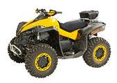 Yellow quadbike — Stock Photo