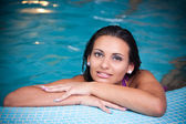 Young woman relaxing — Stock Photo