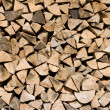 Stock Photo: Background of firewood