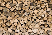 Background of firewood — Stock Photo