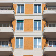Facade with balconies — Stock Photo #7533265