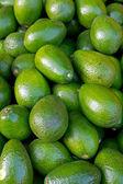 Авокадо на рынке — Стоковое фото