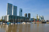 Part of Puerto Madero in Buenos Aires — Stock Photo