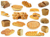 Set breads — Stock Photo