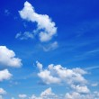 White clouds — Stock Photo #7275580