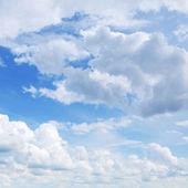 Modrá obloha — Stock fotografie