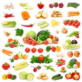 Collection vegetables — Foto Stock