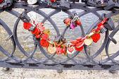 Wedding locks — Stock Photo