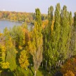 Panorama of the autumn park — Stock Photo #7240782