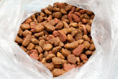 Pet food in a packet — Stock Photo
