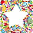 Candy star - Stock Vector