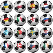 足球 2012 — 图库照片