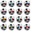 Euro Soccer Championship Teams — Stock Photo
