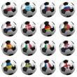 Euro Soccer Championship Teams — Stock Photo #7910698