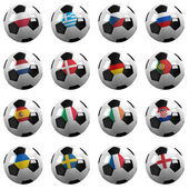 Euro Soccer Championship Teams — Photo