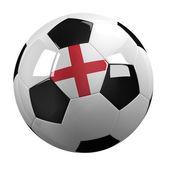England Soccer Ball — Stock Photo
