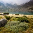 Mountain landscape with lake. - Stock fotografie