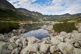 湖と山の風景. — ストック写真