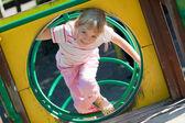 Cute girl having fun. — Stock Photo