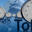 Time zone — Stockfoto #7496447