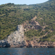 Blue Sea - Argentario Coast - Stock Photo