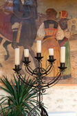 Antique Candelabrum — Stock Photo