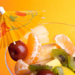 Cup With Fruit Salad - Lizenzfreies Foto