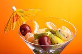 Fruit Salad Closeup — Stock Photo