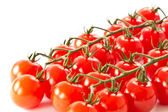 Branch of red cherry tomatoes — Stock Photo