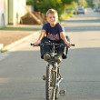 Boy on a bicycle — Stock Photo #6858142