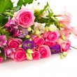 Beautiful bright bouquet of roses — Stock Photo #7174284