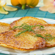 Stock Photo: Potato pancakes