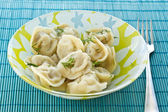 Boiled dumplings — Stock Photo