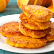 Pumpkin pancakes — Stock Photo #7700146